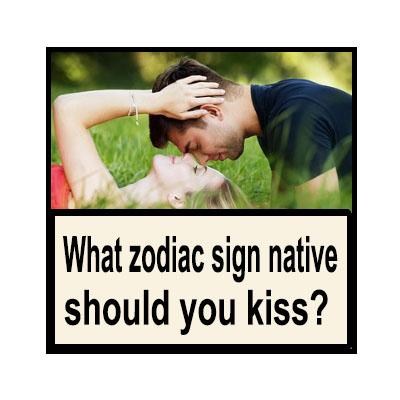 zodiac signs kissing compatibility